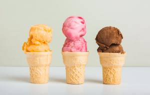 hem kilo vermek hem de tatli yemek istiyorsaniz secenegiz belli dondurma