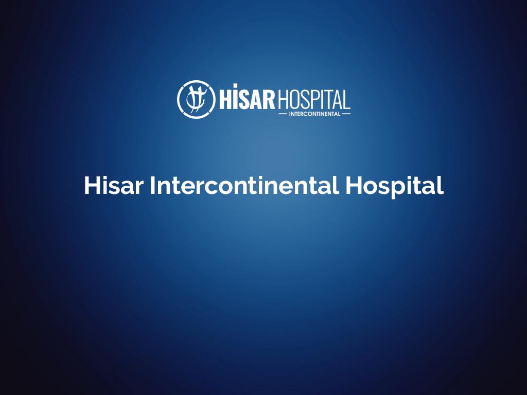 Hisar Intercontinental Hospital – English
